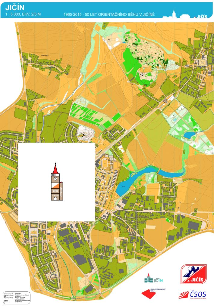 Mega Mapa Jicina A Okoli Manufaktura Cesky Pohar Inov 8 Cup